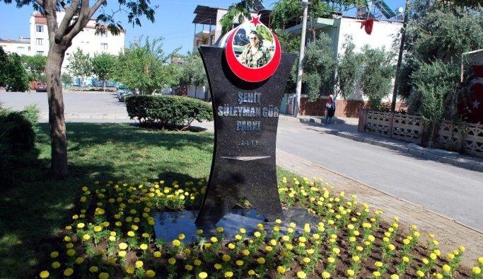 Şehit Süleyman Gür'ün ismi parkta ölümsüzleşti