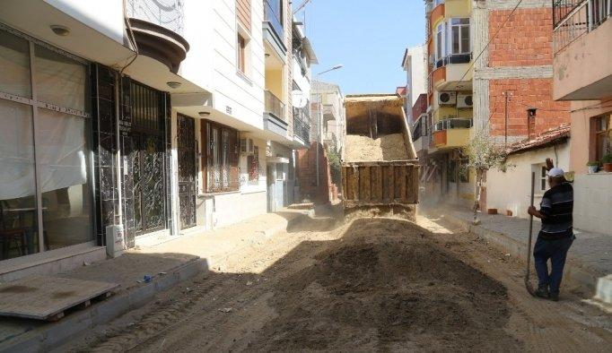 Turgutlu'da Yeni Mahalle yeni yollarına kavuşuyor