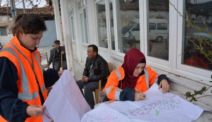 Heciz Mahallesi'nde kanalizasyon hattı yenilemesi