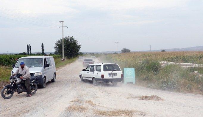İhalesi iptal edilen yolu büyükşehir yapıyor