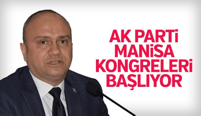Manisa AK Parti'de kongre takvimi belli oldu