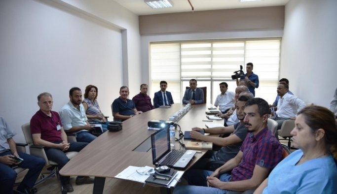 Manisa Büyükşehir Belediyesi'nden iş güvenliği toplantısı