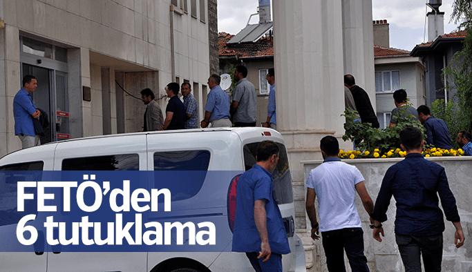 Manisa'da FETÖ'den 6 kişi tutuklandı