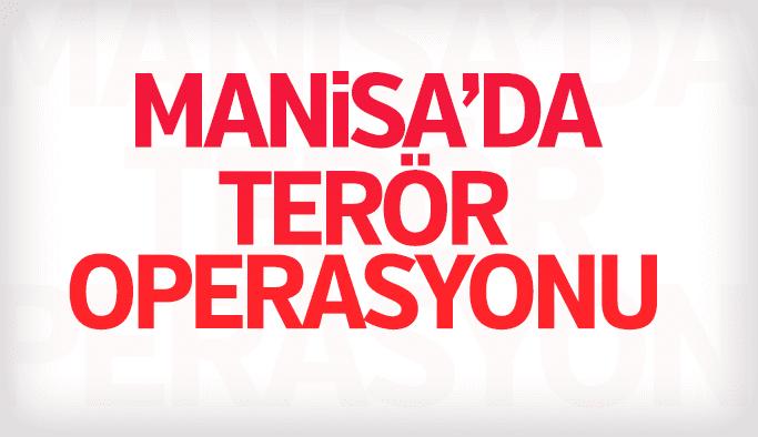 Manisa'daki terör operasyonunda tutuklama var