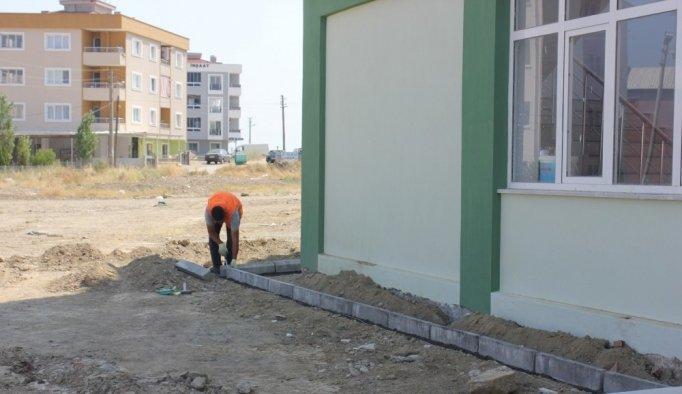 Muhammediye Camisinin çevre düzenlemesi belediyeden