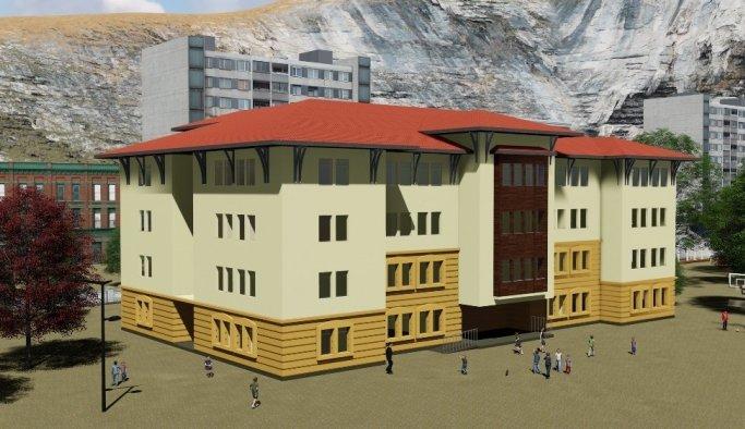 Yeni okul binası tarihin izlerini taşıyacak
