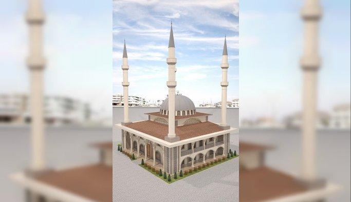 Yunusemre'de Meydan Camisi Projesi başladı