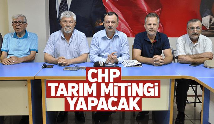 CHP Manisa'da tarım mitingi yapacak