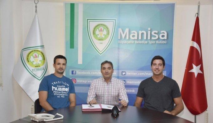 Manisa BBSK Basketbol takımına iki yeni transfer