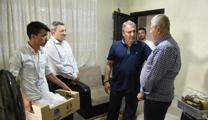 Manisa'da bin 500 ihtiyaç sahibine kurban yardımı