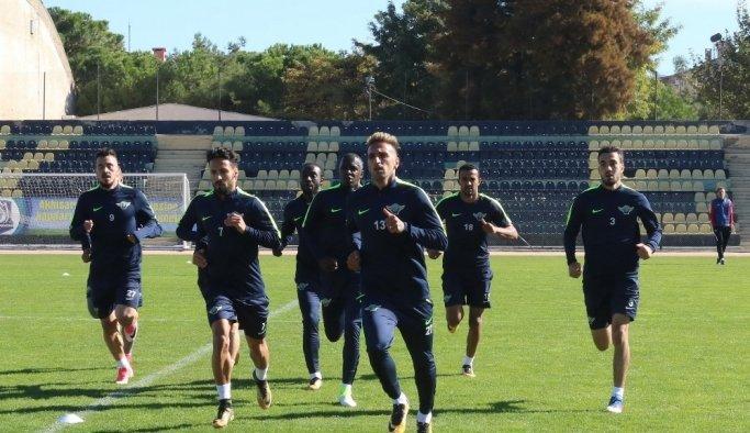 Akhisarspor, Alanyaspor maçı hazırlıklarını sürdürüyor