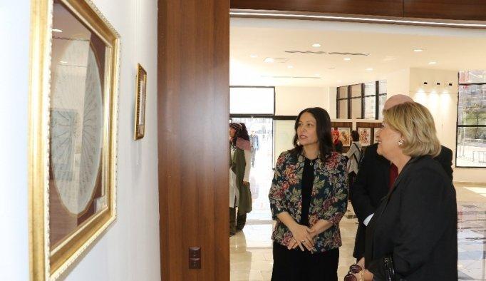 Klasik Türk Sanatları sergisi açıldı