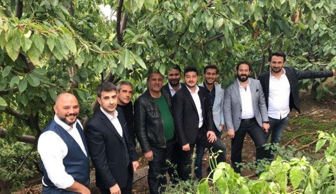 MAGİAD Salihli'de kiraz üreticileriyle buluştu