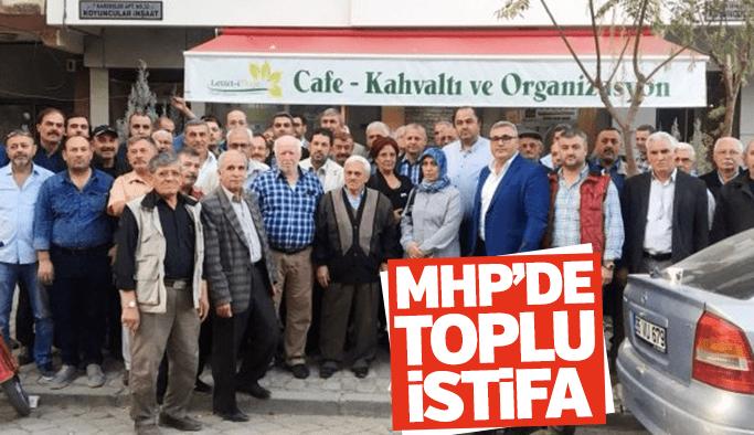 Turgutlu'da 203 kişi MHP'den istifa etti