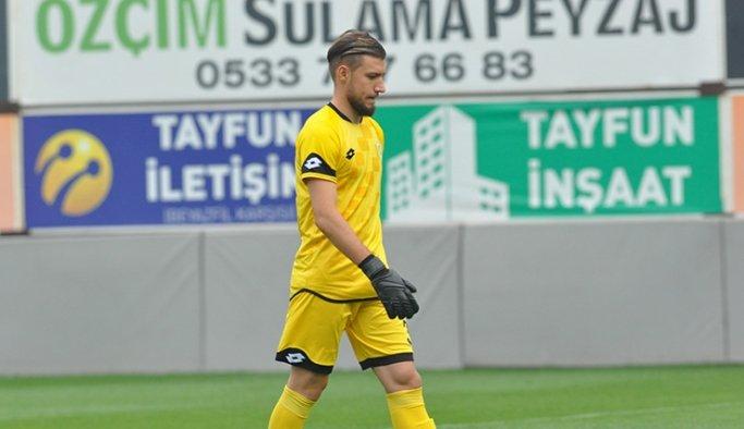 Büyükşehir Belediyespor'un kalecisi Yusuf ligin en az gol yiyen kalecisi oldu