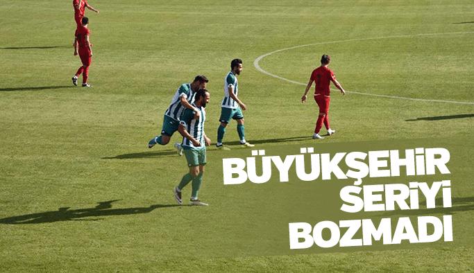 Manisa Büyükşehir Belediyespor seriyi bozmadı