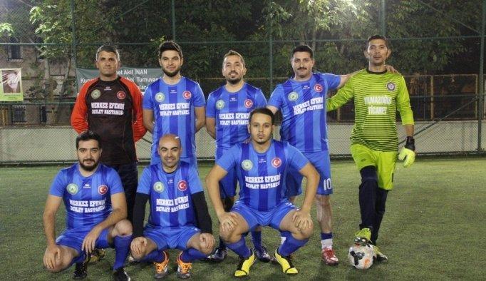Memur-Sen Kurumlar Arası Futbol Turnuvası devam ediyor