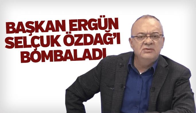 Başkan Cengiz Ergün Selçuk Özdağ'ı bombaladı