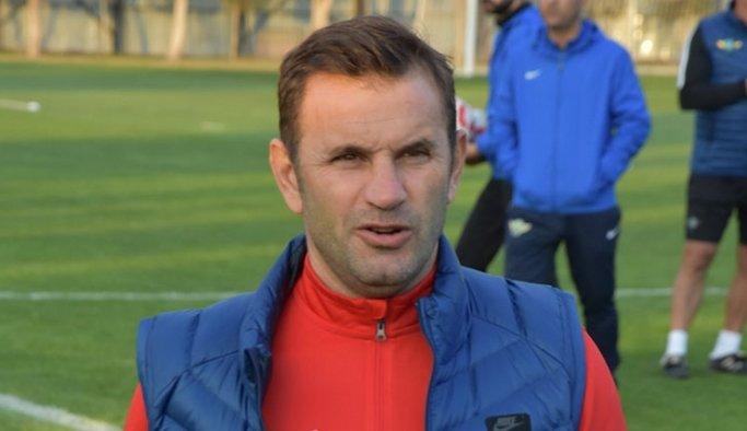 Galatasaray maçının olay adamı Okan Buruk konuştu