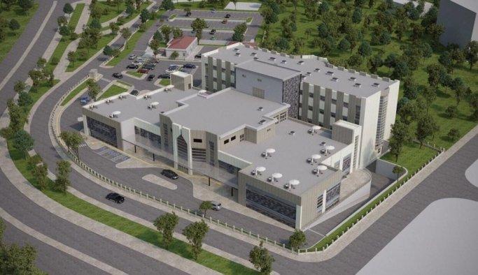 Kula'ya otel konforunda yeni hastane