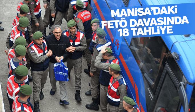 Manisa'daki FETÖ davasında 18 tahliye