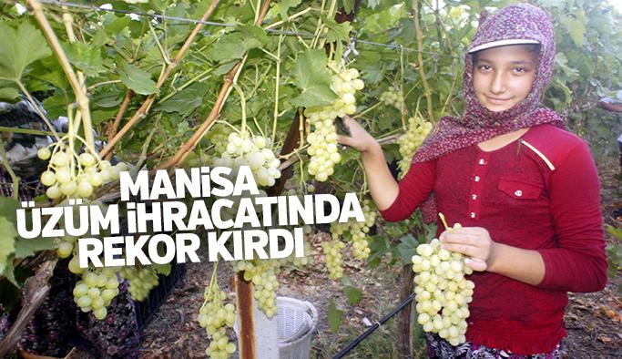 Manisa üzüm ihracatında rekor kırdı