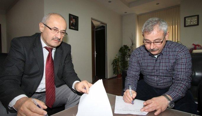Saruhanlı'da belediye işçilerinin maaşlarına zam