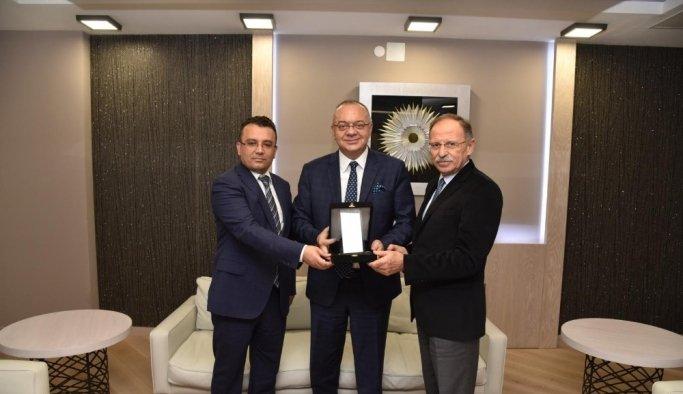Tarihi Kentler Birliği'nden Manisa Büyükşehir'e ödül