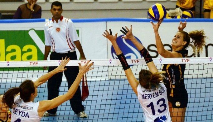 Vestel Venus Sultanlar Ligi: Seramiksan: 0 - Vakıfbank: 3
