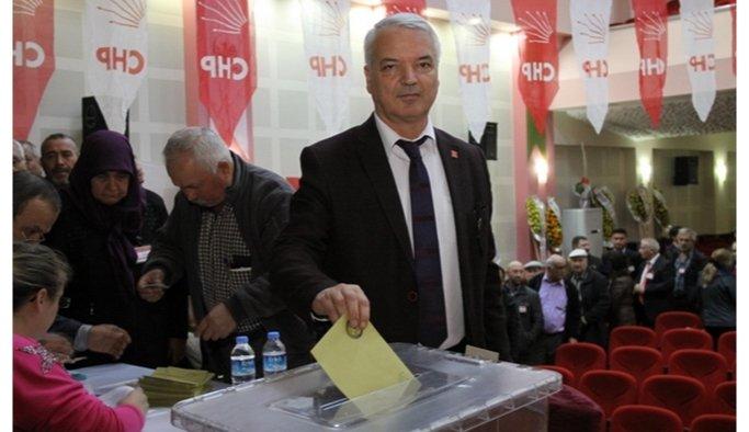 Zeki Bilgin CHP Saruhanlı İlçe Başkanı seçildi
