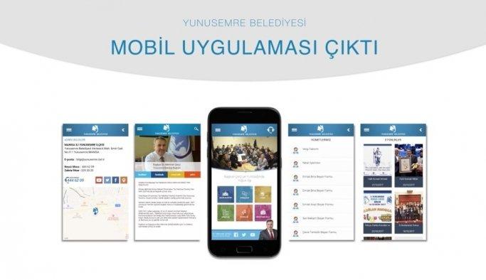Yunusemre mobil hizmeti yenilendi