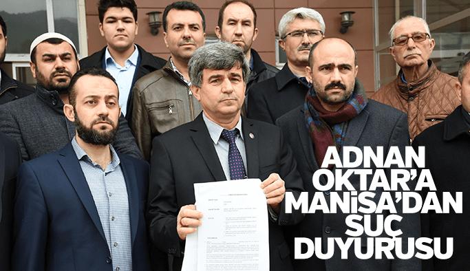 Adnan Oktar'a Manisa'dan suç duyurusu