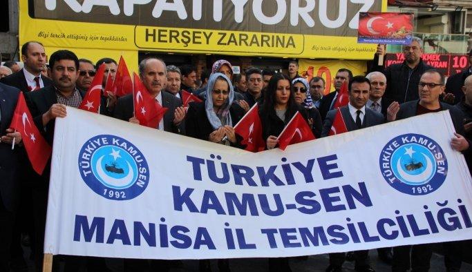 Türkiye Kamu-Sen Afrin için tek yürek oldu