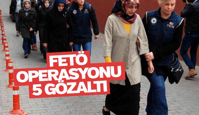 Manisa'da 5 kadına FETÖ'den gözaltı