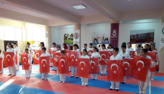 Şehzadeler'de geleceğin şampiyonları yetişiyor