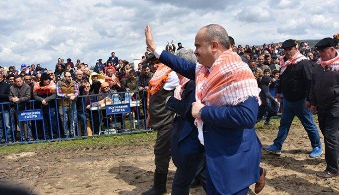 AK Parti Manisa İl Başkanı Berk Mersinli'ye büyük ilgi