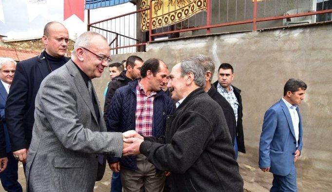 Başkan Ergün'den Kıranşeyh'e 'hayırlı olsun' ziyareti