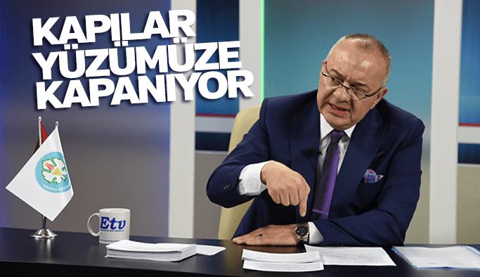 """Cengiz Ergün """"Kapılar yüzümüze kapanıyor"""""""