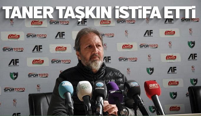 Grandmedical Manisaspor'da Taner Taşkın istifa etti