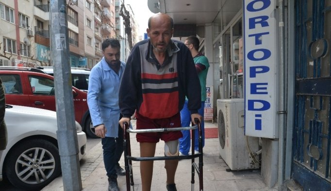 Hayalini kurduğu protez bacaklara kavuştu