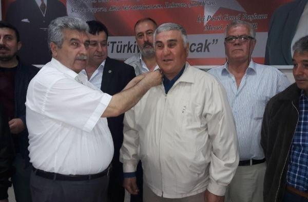 Alaşehir'de İYİ Parti'ye 88 yeni üye