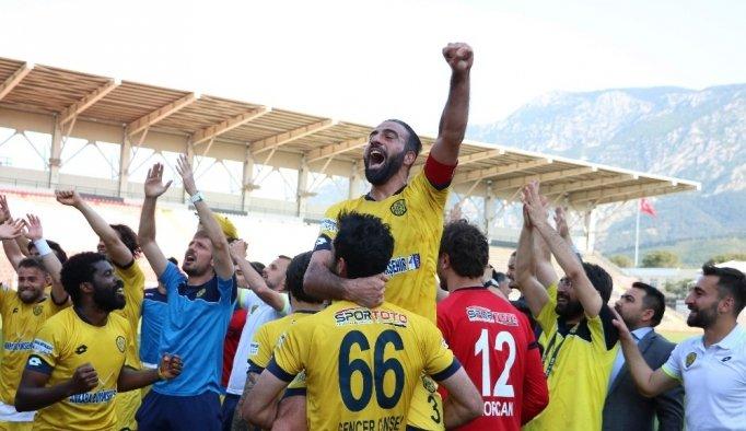 Ankaragücü'nün 6 yıllık Süper Lig özlemi sona erdi