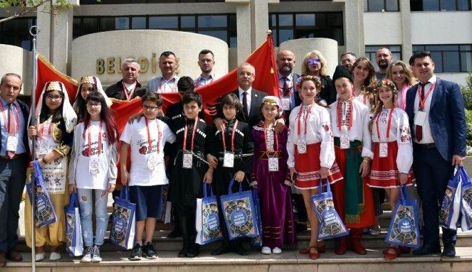 Başkan Kayda, yabancı öğrencileri ağırladı