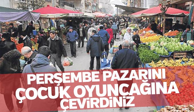 """Cengiz Ergün """"Perşembe pazarını çocuk oyuncağına çevirdiniz"""""""