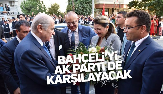 Devlet Bahçeli'yi Manisa'da AK Parti de karşılayacak