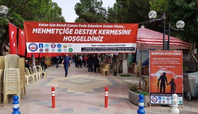 Gördesliler aşını Mehmetçik ile paylaştı