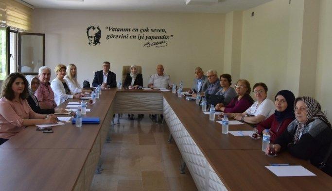 Komisyon Salihli'de toplandı