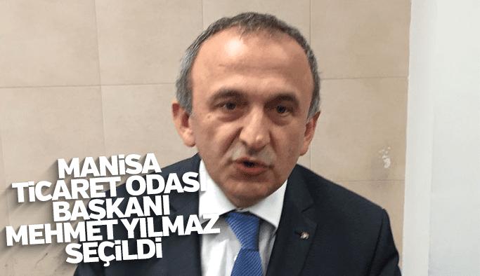 Manisa İş dünyasının yeni Başkanı Mehmet Yılmaz