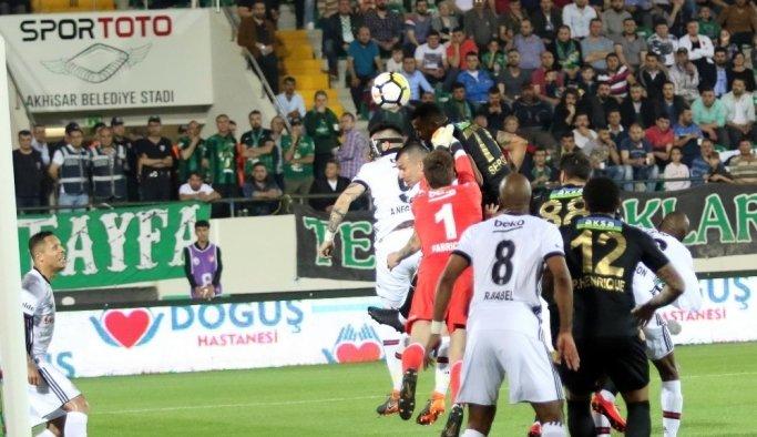 Spor Toto Süper Lig: T.M. Akhisarspor: 0 - Beşiktaş: 3 (Maç sonucu)