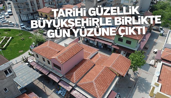 Tarihi güzellik Büyükşehir'le gün yüzüne çıktı